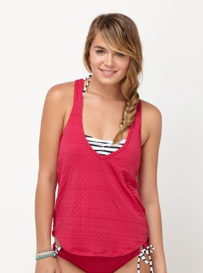 bc3430635cde0 Details about Roxy Junior's Wild Emotion Racerback Tankini | Lookin ...
