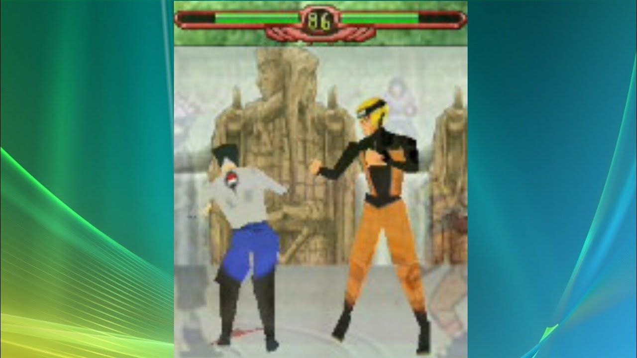 NARUTO 3D : JAVA GAME DI ANDROID - YouTube
