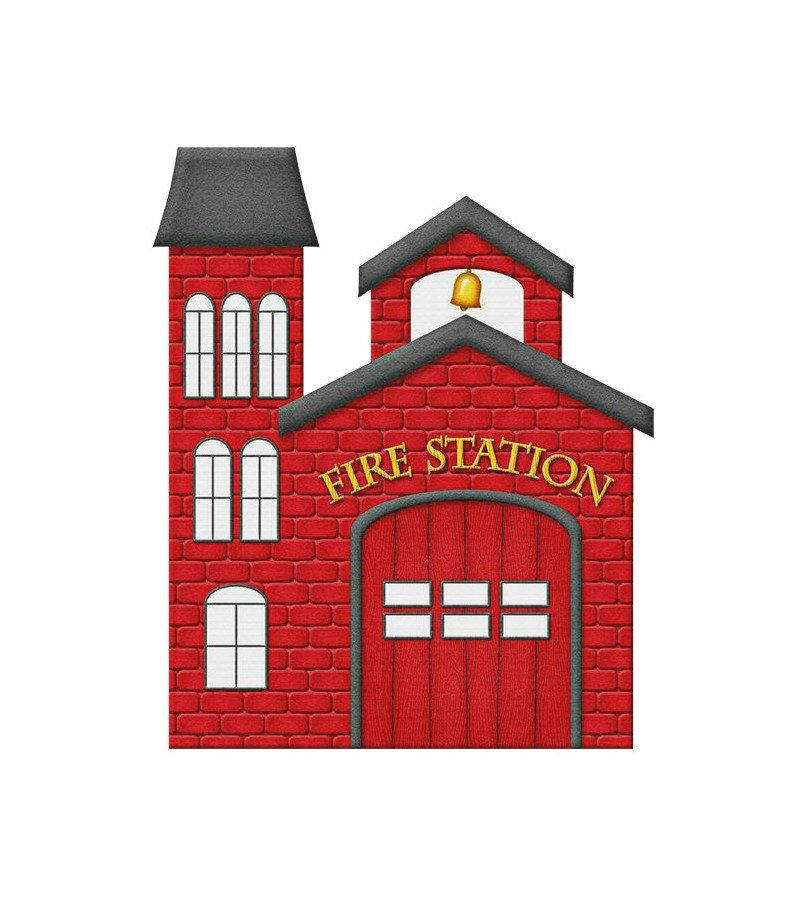 Red Fire Station Image Rr Fire Station Poster Fire Station Poster Wall Art Kids Room Print Rr Wall Decor Fire Station Firetruck Birthday Firefighter Birthday