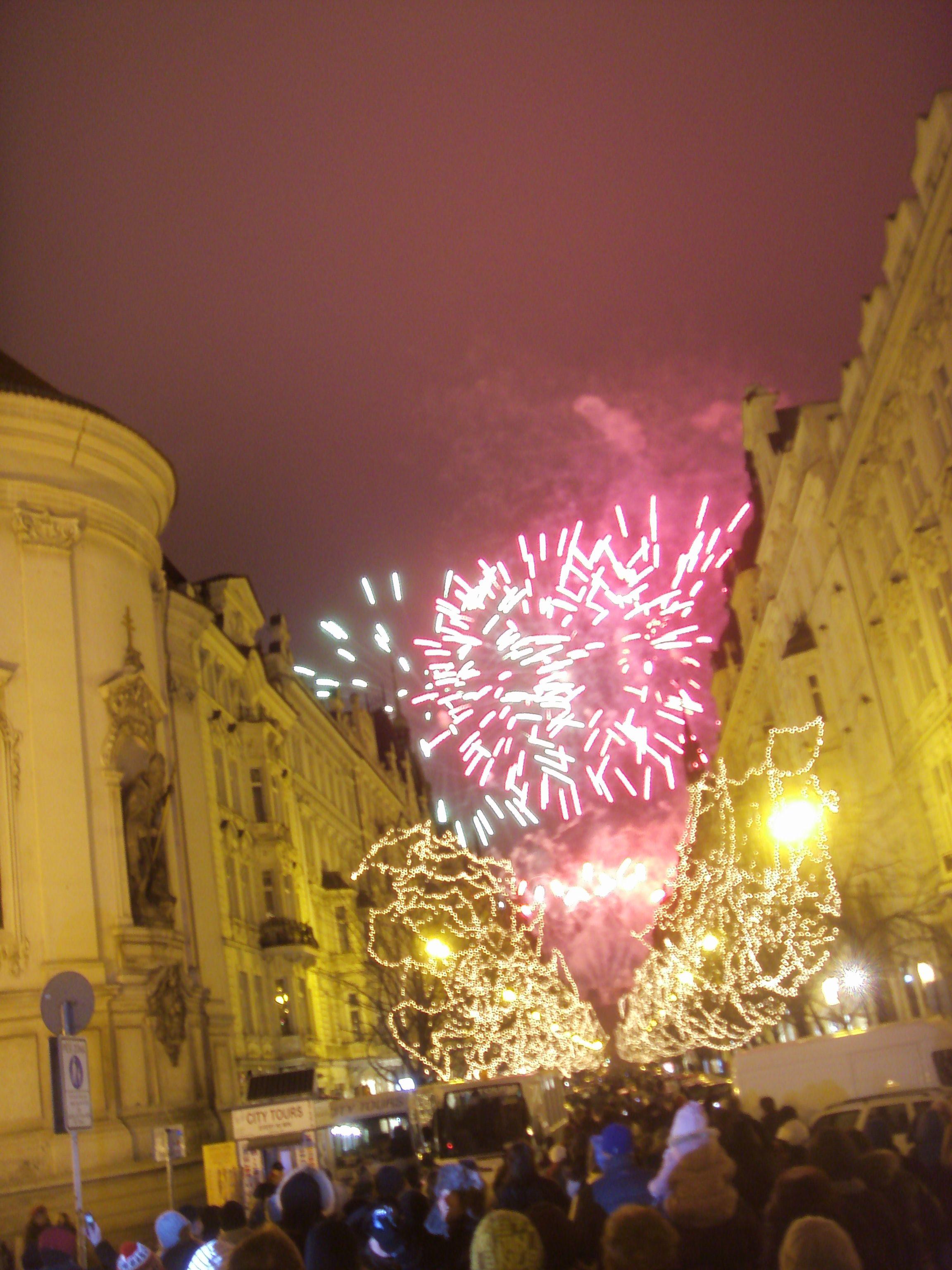 Prag Prague Praha Silvester New Years Eve