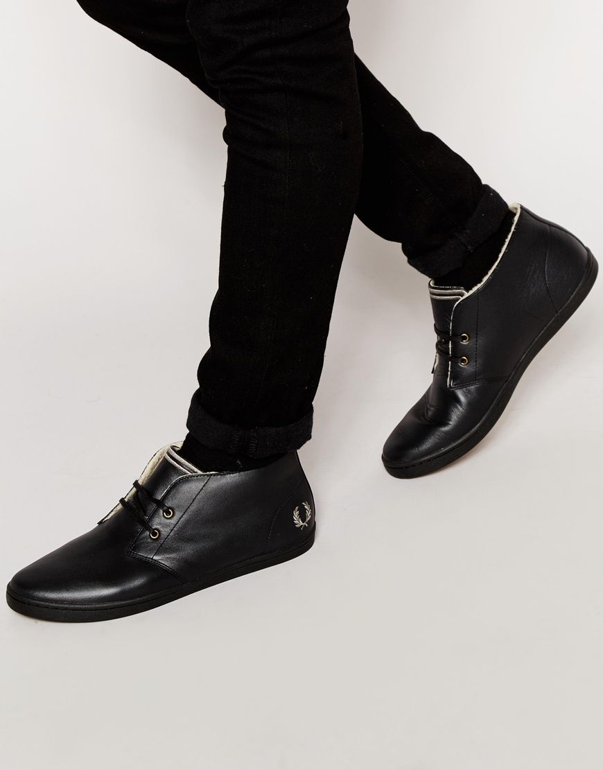 Like this we have more  Fred Perry Byron Leather Chukka Plimsolls with Faux Shearling Lining - Black - http://www.fashionshop.net.au/shop/asos/fred-perry-byron-leather-chukka-plimsolls-with-faux-shearling-lining-black/ #Black, #Byron, #Chukka, #ClothingAccessories, #Faux, #Footwear, #Fred, #FredPerry, #Leather, #Lining, #Male, #Mens, #MensShoes, #Perry, #Plimsolls, #Shearling, #With #fashion #fashionshop