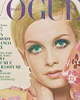 60s VOGUE covers (Twiggy, Jean Shrimpton, Lesley Jones, Lauren Hutton, Donyale Luna, Pattie Boyd, Veruschka, Marisa Berenson, Benedetta Barzini)