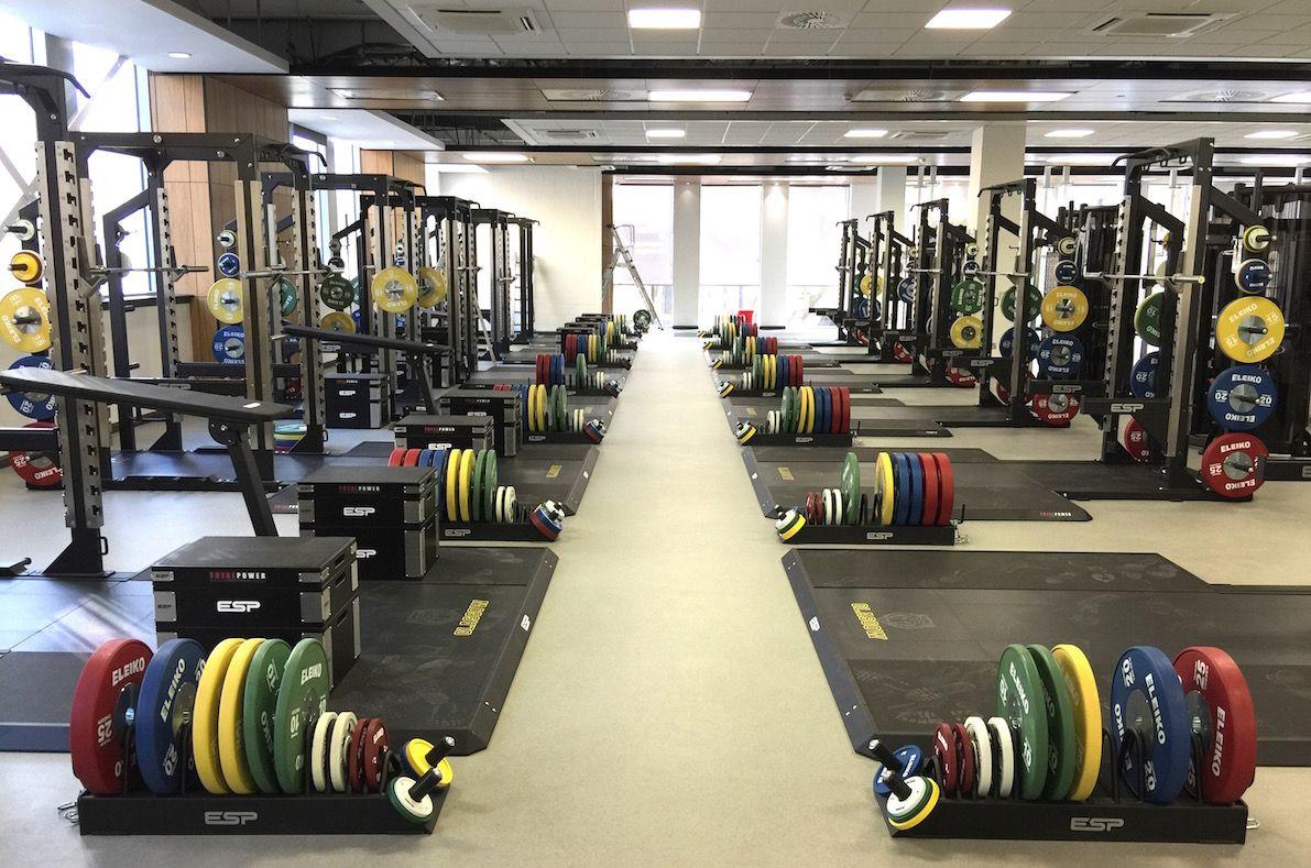 University of glasgow in a gym design gym fitness