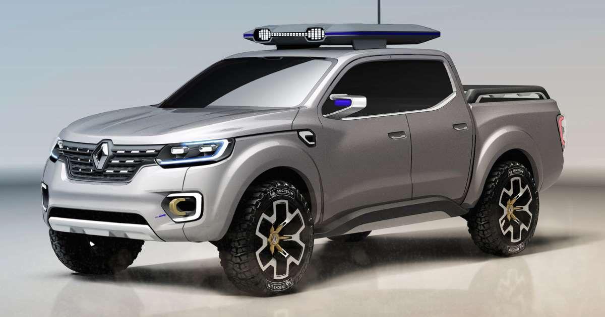 Renault Alaskan Pickup Truck Concept Debuts Ahead Of Frankfurt In 2020 Renault Concept Cars Pickup Trucks