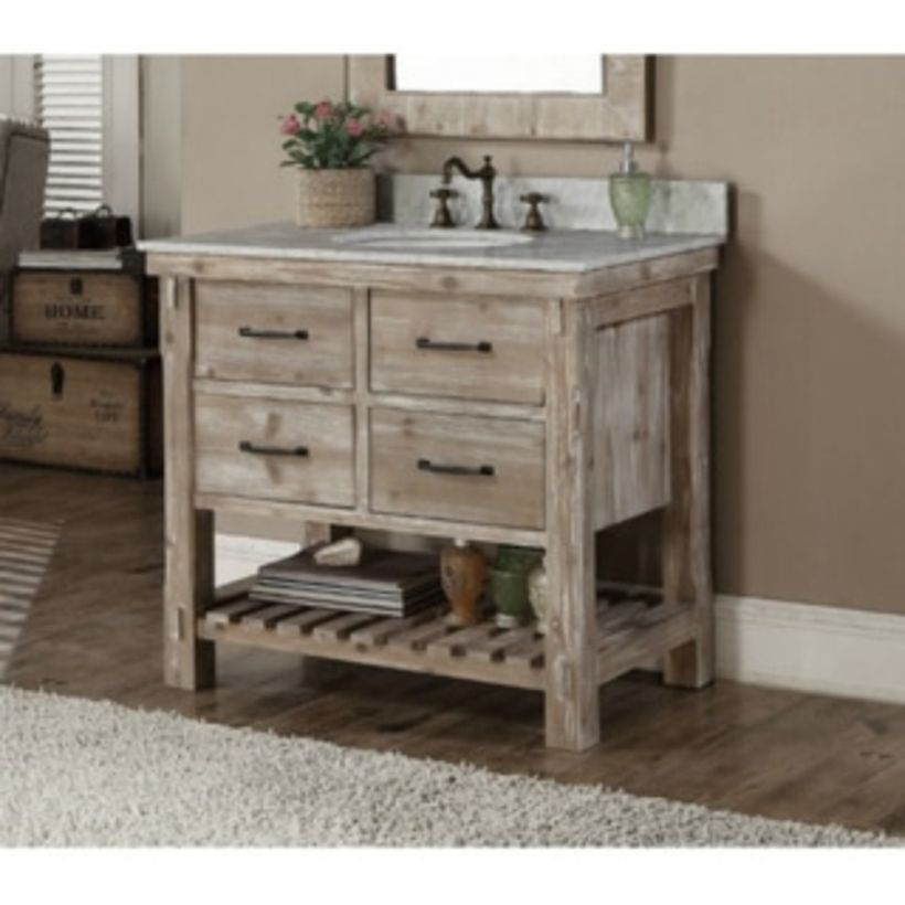 44 Rustic Farmhouse Bathroom Ideas You Will Love Bathroom Vanity