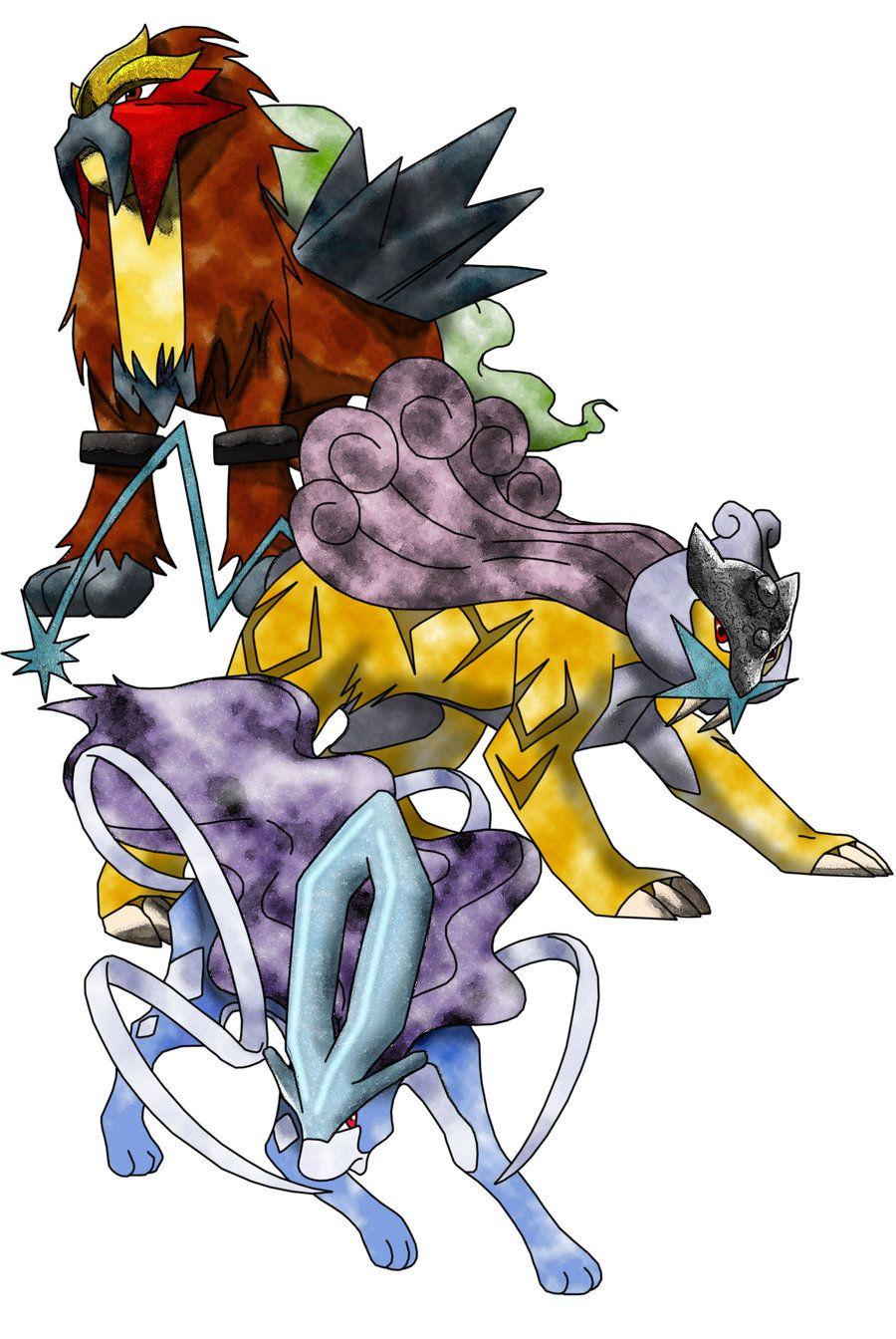 pokemon legendary dogs - HD900×1344