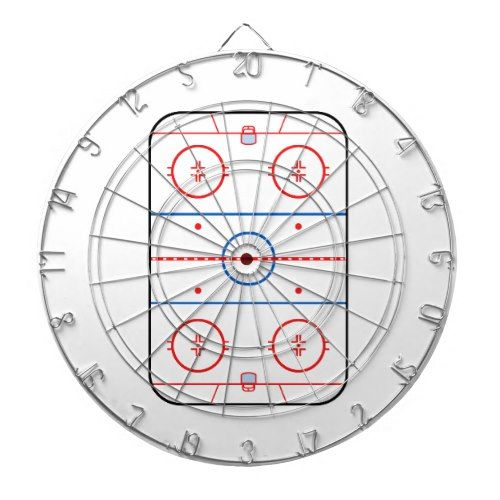 Ice Rink Diagram Hockey Game Design Dartboard Hockey Inspiration