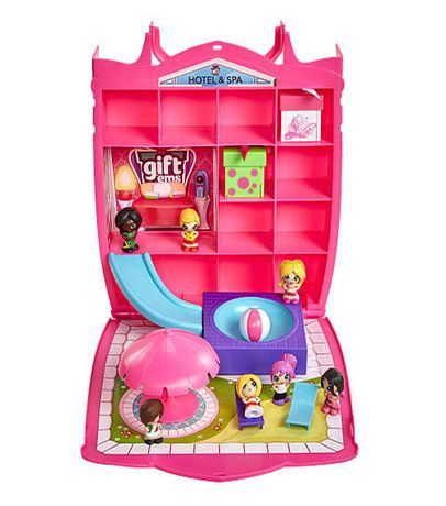 Gift 'Ems Gift Bag Hotel and Spa Playset