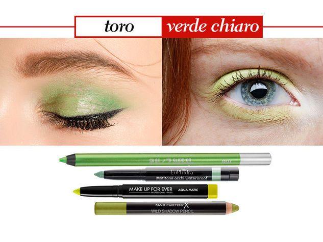 Toro verde colore chiaro