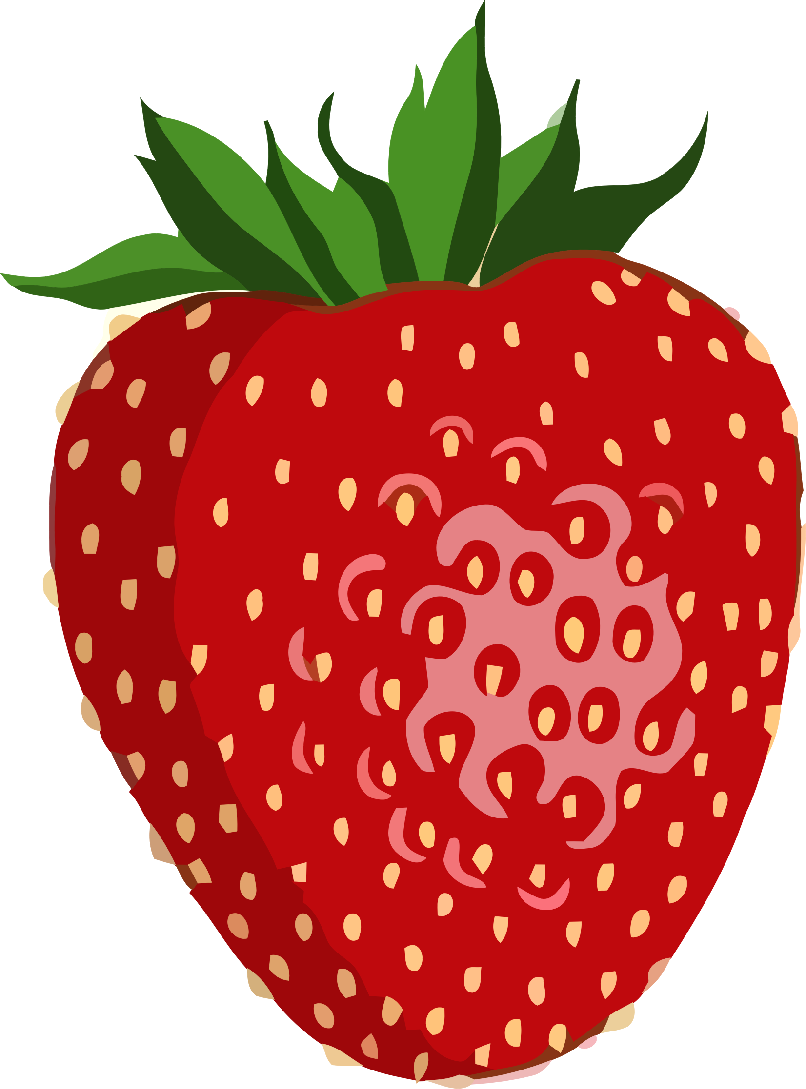 Shiny Strawberry by GDJ Полуниця