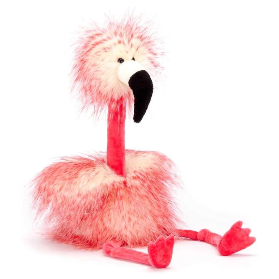 Baby flamingo car interior design - Gosedjur Flamingo