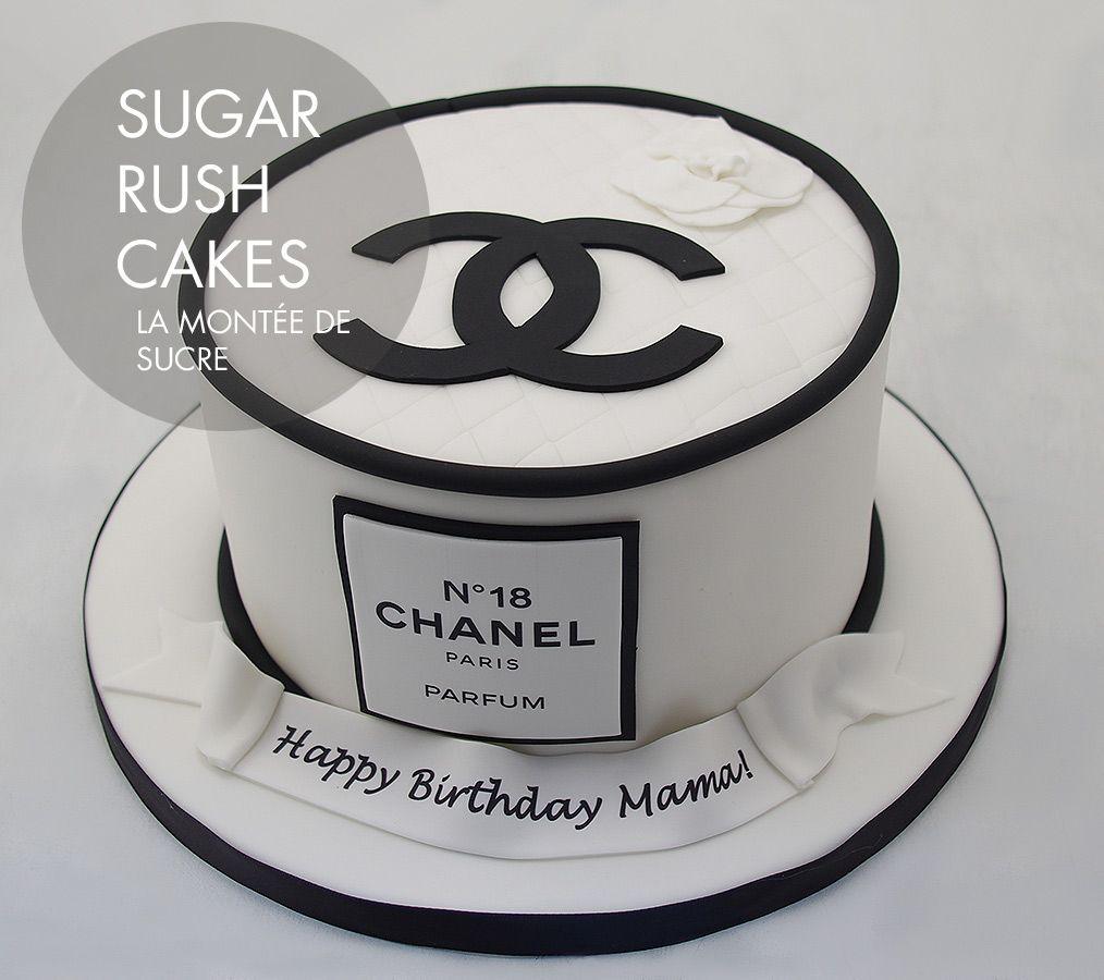 Chanel Cake Designs: Coco Chanel Birthday Cake
