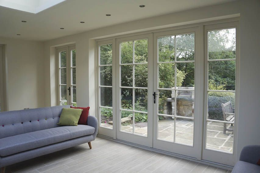 Traditional double glazed large french windows google for Double glazed porch doors
