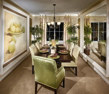 Home Design Ideas Pictures Remodel And Decor Traditional Dining Rooms Stylish Dining Room Mirror Dining Room