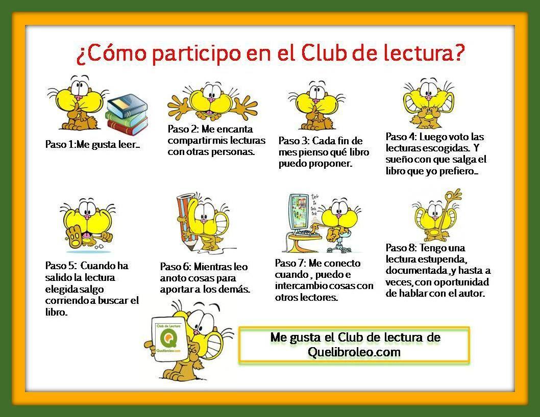 Cómo participo en el Club de Lectura? | bibliotecas pintorescas ...