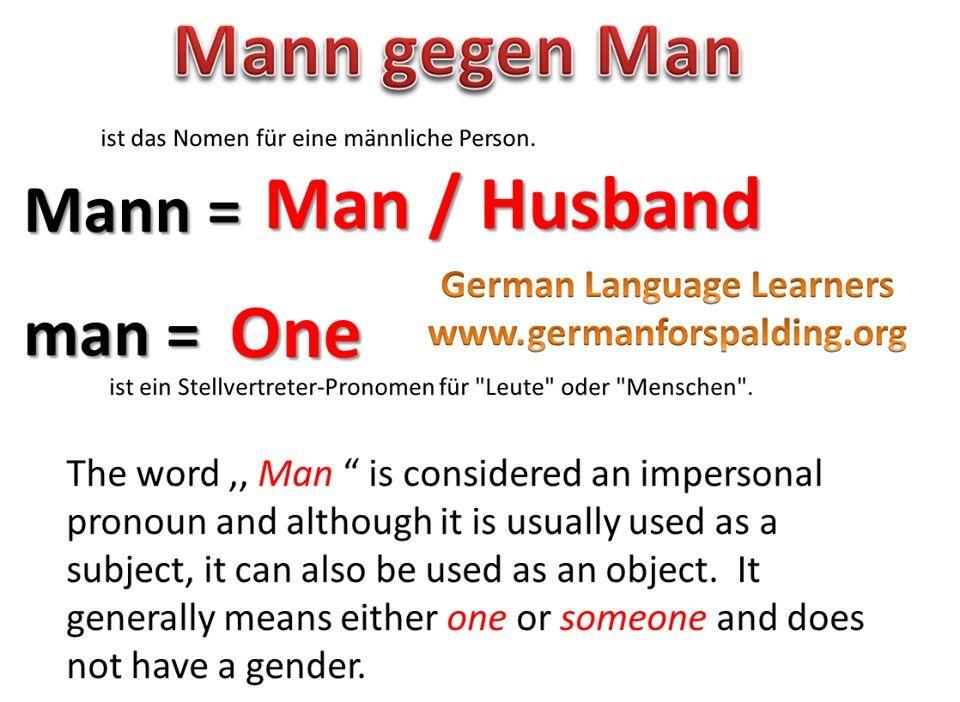 Mann - man