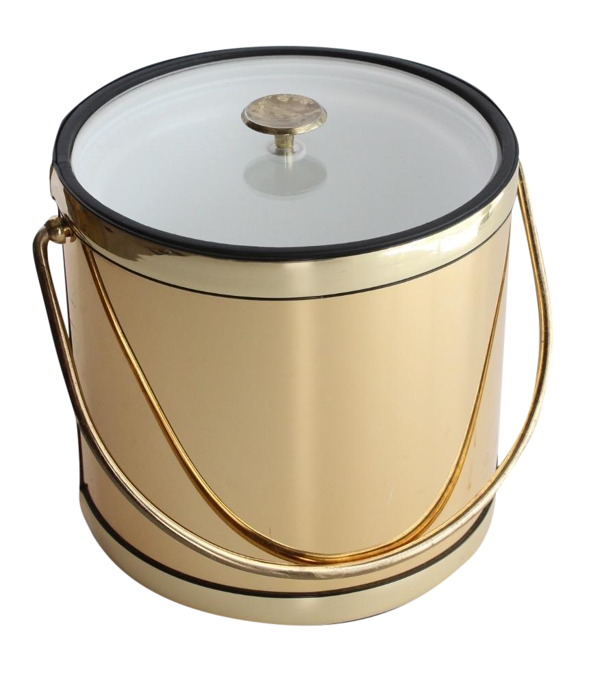 This Gold Ice Bucket Is A Perfect Addition To Your Bar Ice Bucket Apartment Design Inspiration