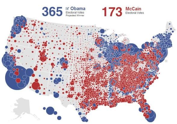 2012 Presidential Election Results Election Maps Live Map United