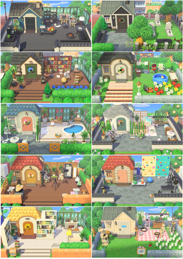 I Decided When I Started Playing I Would Give All My Villagers Personalized Yards Happy To Say Animal Crossing Villagers Animal Crossing New Animal Crossing