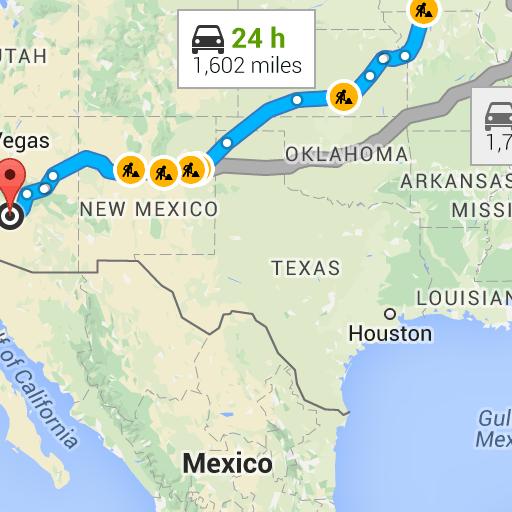 Prophetstown IL To Phoenix AZ Google Maps Arizona Trip - Google maps arizona