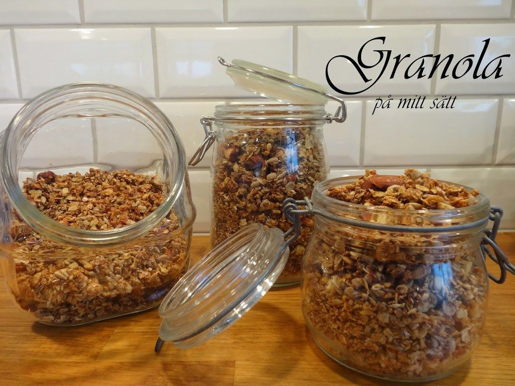 Granola - mitt recept | Fitness & Hälsa