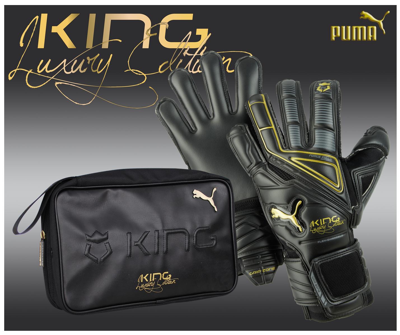 Goalkeeper Glove Puma King Luxury - Limited Edition ...