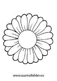 Bildergebnis Für Malvorlagen Blumen Blüten Basteln