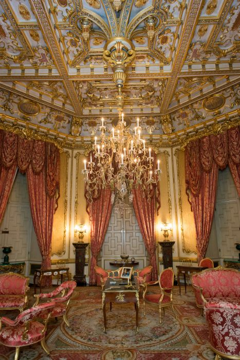 Raby Castle Victorian Interiors The Octagon Drawing Room Castles And Palaces Around The