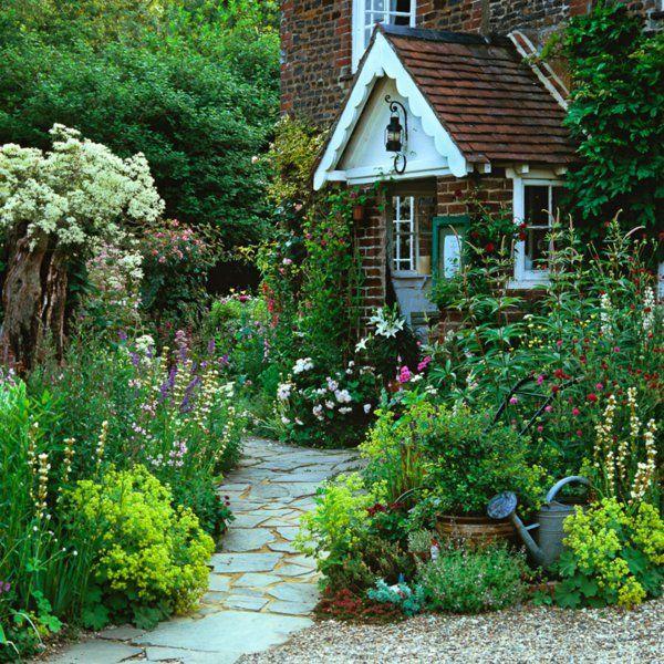 Vorgarten gestalten 33 bilder und gartenideen for my green heart - Gartenhaus neu gestalten ...