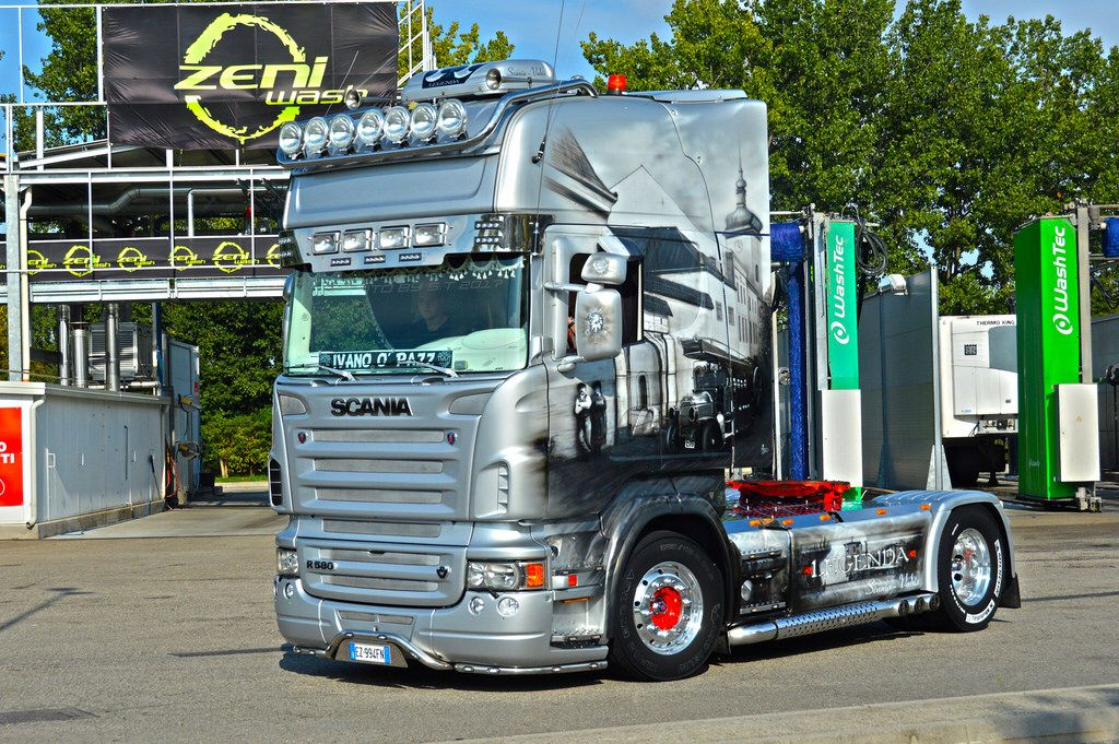Super NEW* Scania R580 V8 Ex Daija Speed Legenda | Brummis zum Geld  JY82