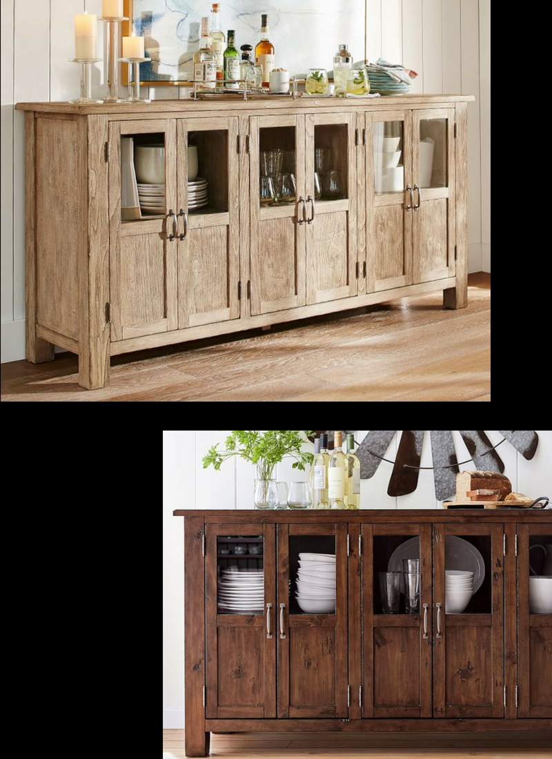 This Beautiful Buffet From Pottery Barn Provides Tons Of