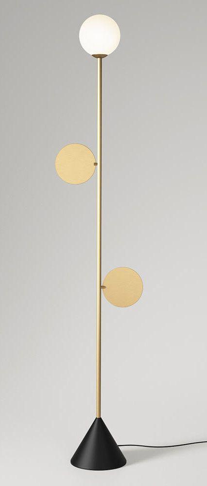 Atelier areti plates floor lamp chiara colombini