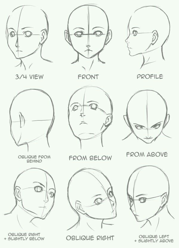 Drawing Reference Head Angled Anime Art Drawings Sketches Drawing Tutorial Drawing Heads