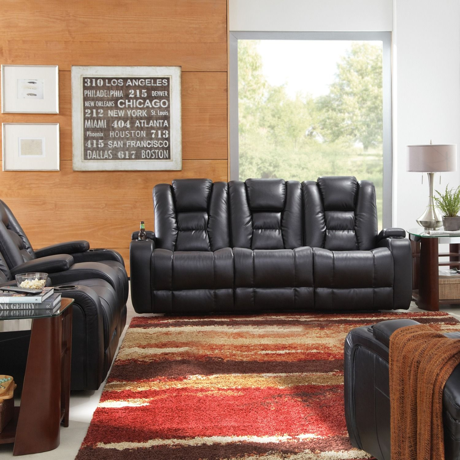 Sink Into Bliss In The Matrix Power Reclining Sofa With A Power
