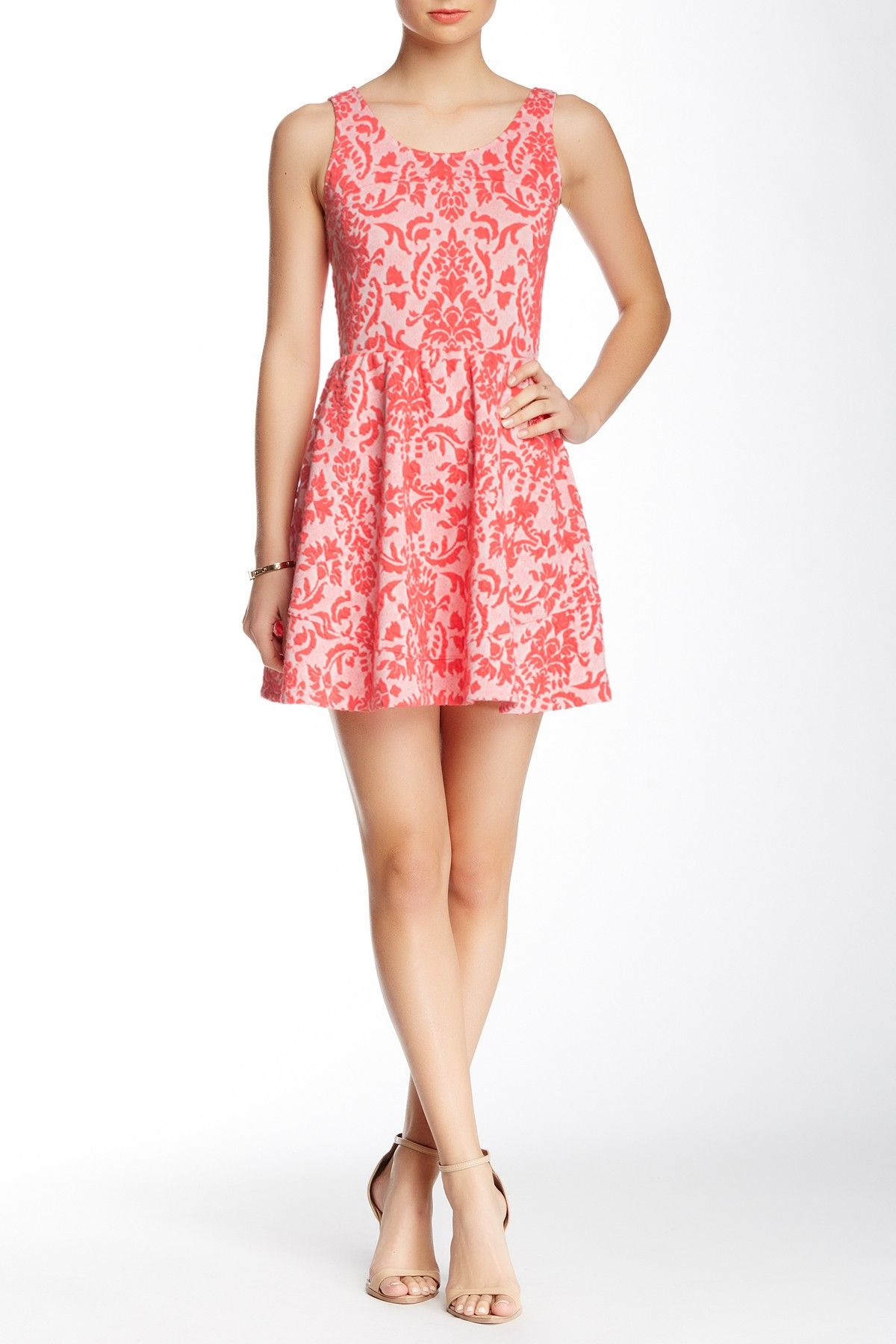 Love...Ady | Jacquard Fit & Flare Dress | Nordstrom, Shops and Dresses