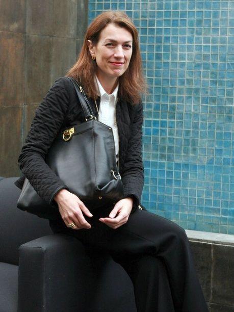 Corinne Ortega en el Brunch VIP de @Salvatore Ferragamo ...