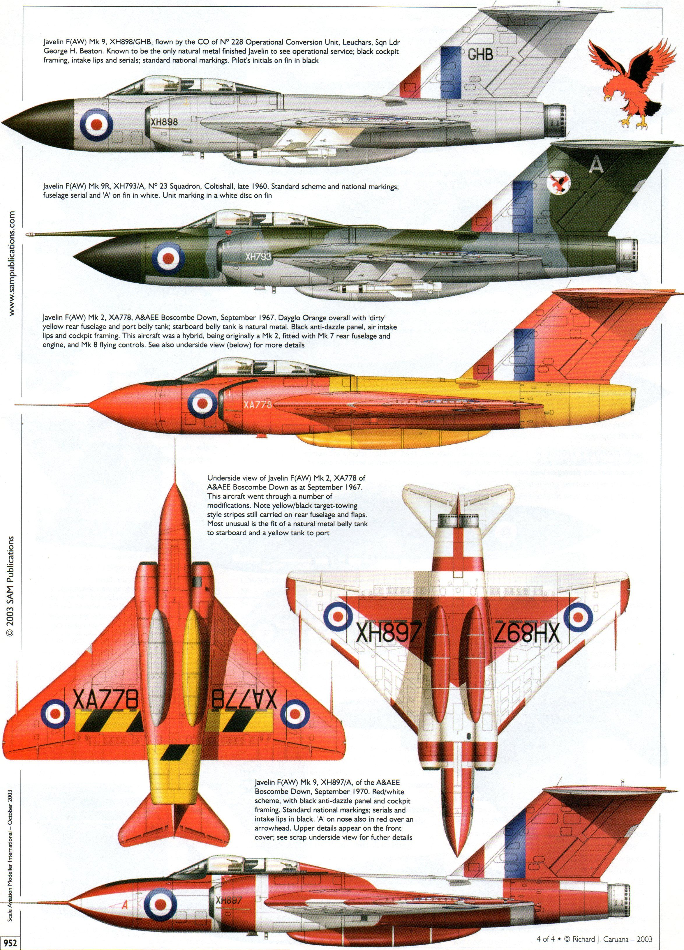 Gloster javelin supersonic aircraft ww2 aircraft military aircraft aircraft painting aircraft design