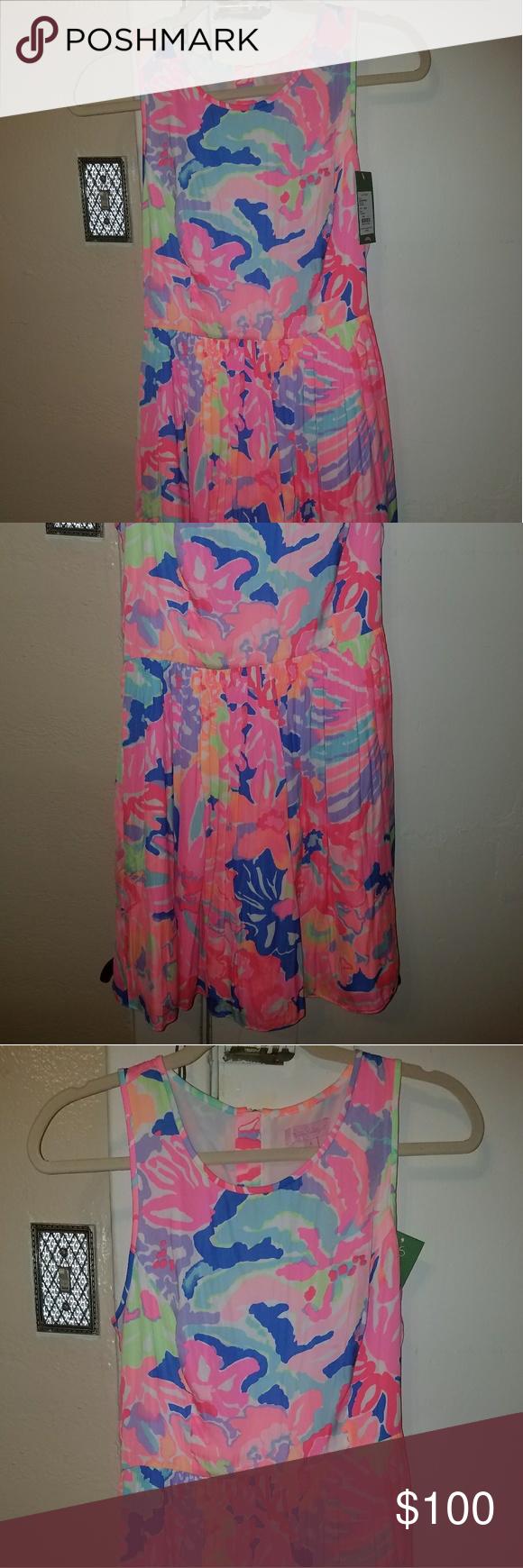 ae3468da979399 Kassia dress going coastal size 4 Lilly pulitzer Nwt Lilly Pulitzer Dresses  Midi