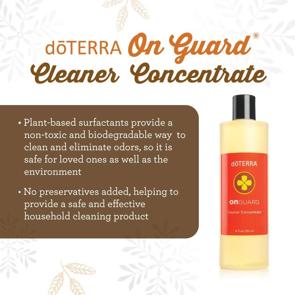 Doterra bathroom cleaner - Doterra On Guard Cleaner Concentrate