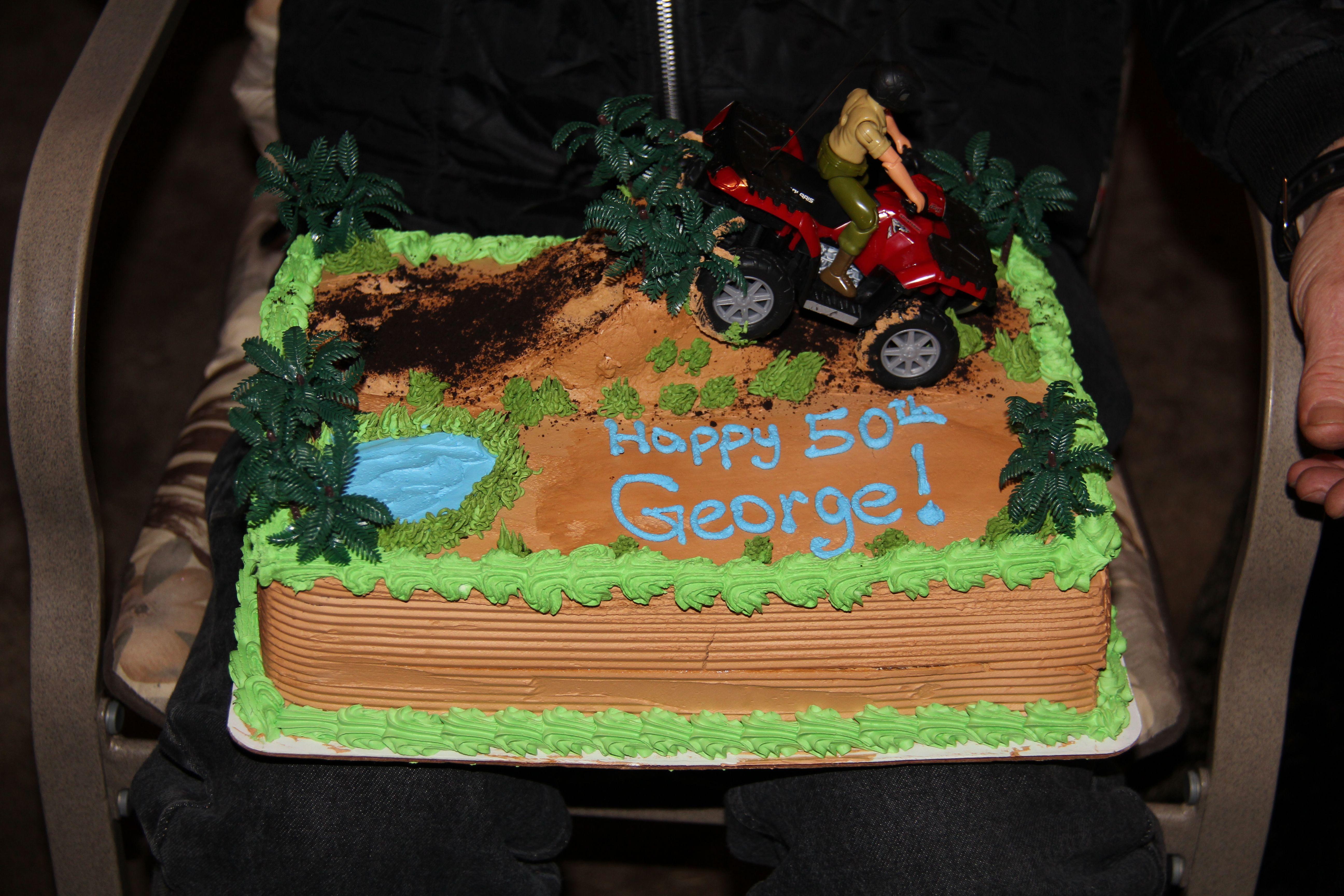 Quad Birthday Cake Little Logan Pinterest
