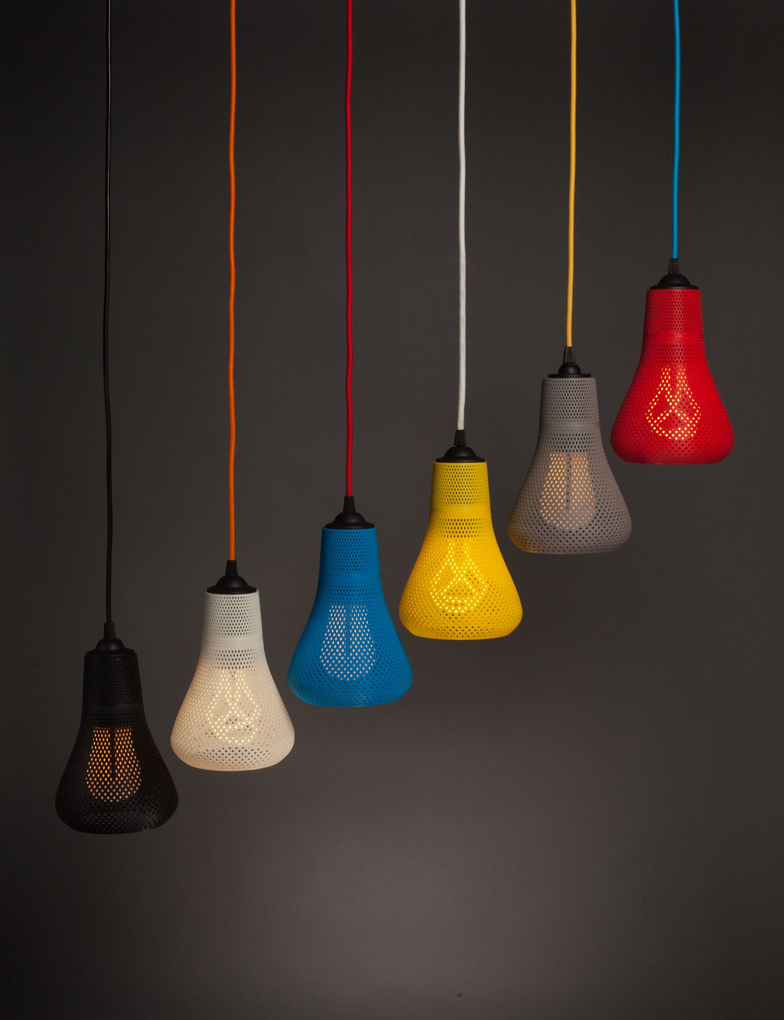 The Kayan 3d Printed Lamp Shade By Plumen X Formaliz3d Plumen Plumen Bulb Lamp Design