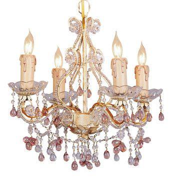 Crystorama paris flea market mini candle chandelier in champagne crystorama paris flea market mini candle chandelier in champagne aloadofball Choice Image