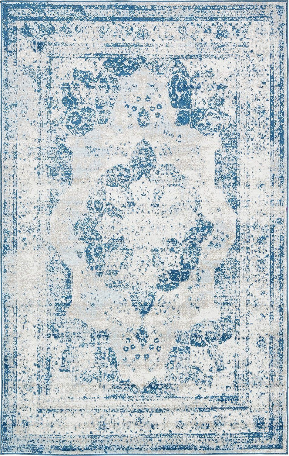 2048 Blue Distressed Oriental Area Rugs | Products | Pinterest ...