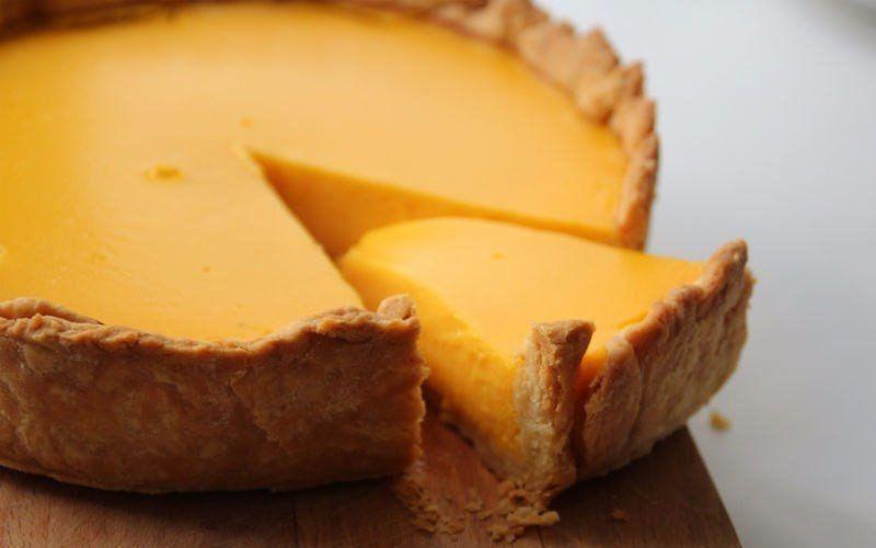 Pumpkin-orange cake without flour