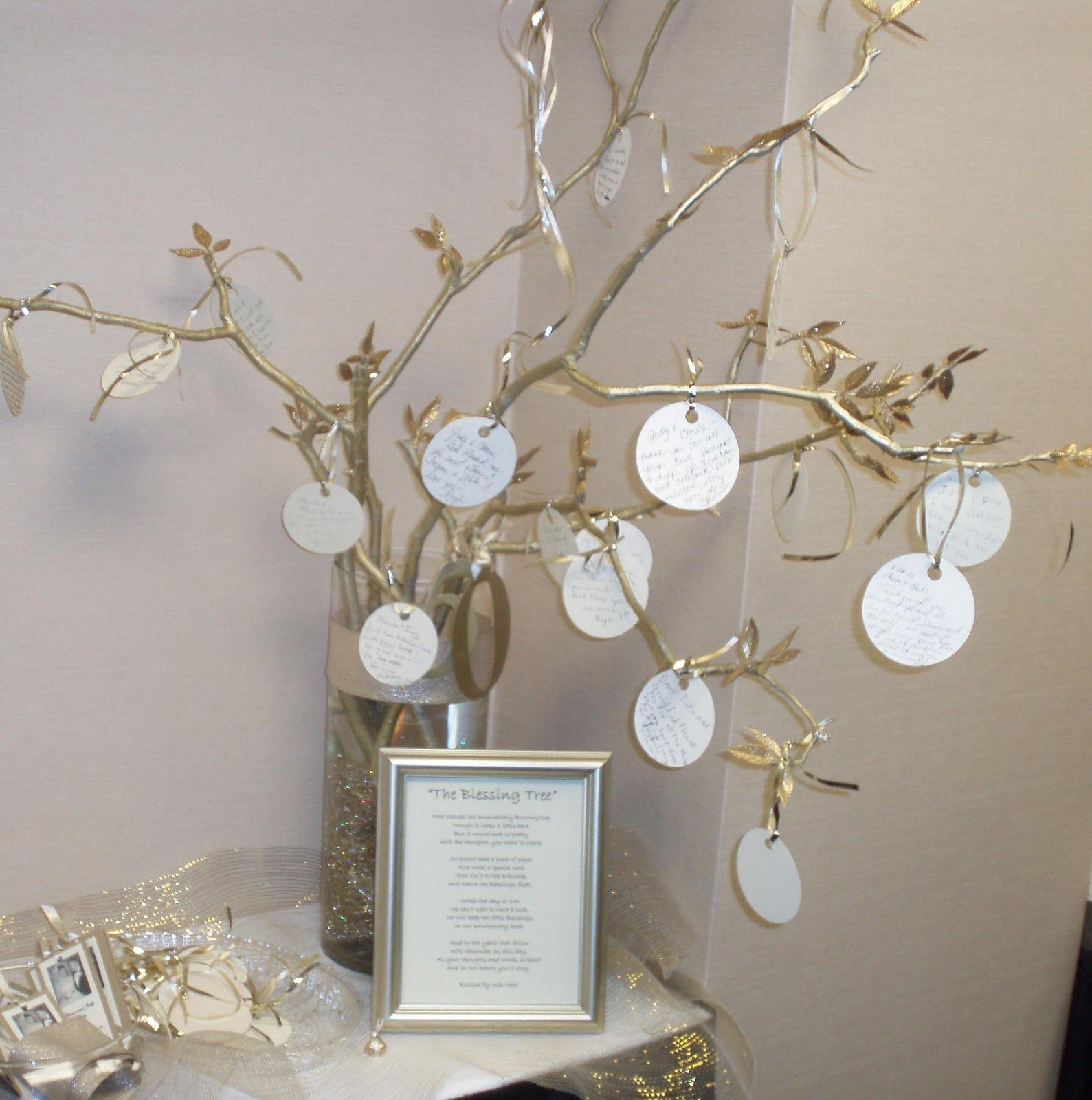 Distracted by prayer how to make a blessing tree 50th for 50s wedding decoration ideas
