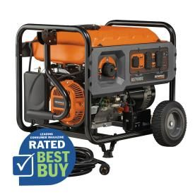 Generac Rapid Start 7 000 Running Watts Portable Generator With Generac Engine Portable Generator Generators For Sale Generation