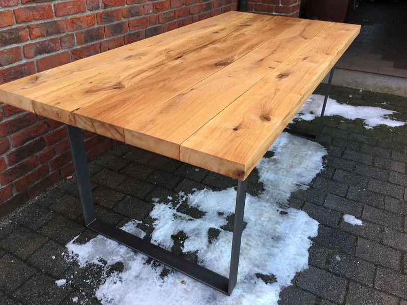 Esstische Tisch Eiche Holz massiv neu 200 cm lang