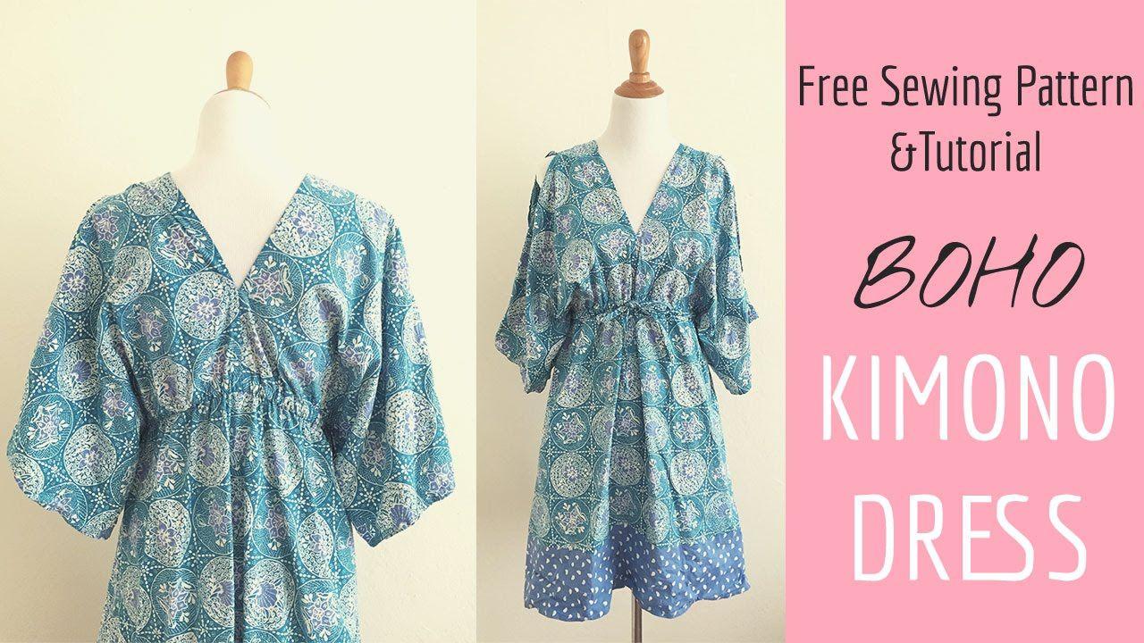 Read more at So Sew Easy here - http://so-sew-easy.com/boho-kimono ...