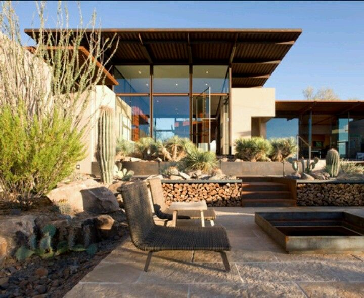 17 Parched Desert Landscaping Ideas With Images Patio