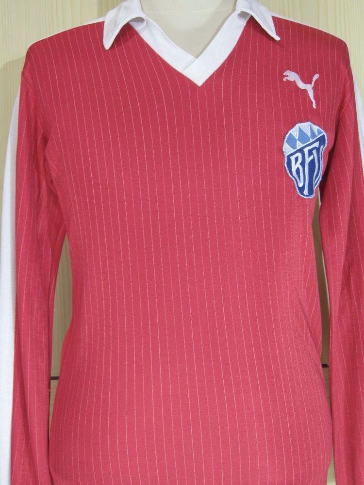857fa85c4 BAYERISCHER VERBAND WEST GERMANY 1980 PUMA FOOTBALL SHIRT VINTAGE MATCH  JERSEY M